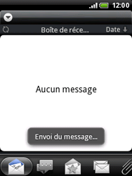 HTC A3333 Wildfire - E-mail - envoyer un e-mail - Étape 12