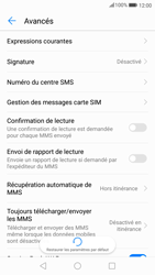 Huawei P10 - Android Oreo - SMS - configuration manuelle - Étape 7