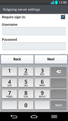 LG G2 - E-mail - Manual configuration - Step 14