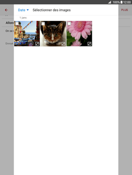 Samsung Galaxy Tab A - E-mails - Envoyer un e-mail - Étape 14
