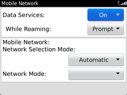 BlackBerry 9720 Bold - Internet - Enable or disable - Step 6