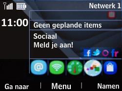 Nokia Asha 302 - Bellen - in het buitenland - Stap 9