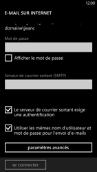 HTC Windows Phone 8X - E-mail - Configurer l