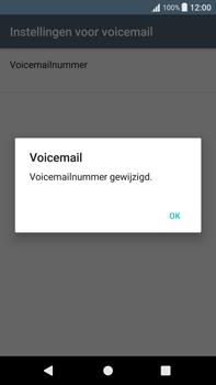 Sony Xperia XA1 Plus (G3421) - Voicemail - Handmatig instellen - Stap 9