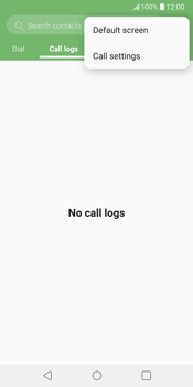 LG V30 - Voicemail - Manual configuration - Step 4