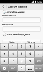 Huawei Ascend Y330 - E-mail - Account instellen (POP3 zonder SMTP-verificatie) - Stap 15