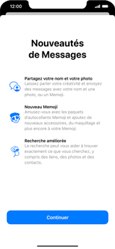 Apple iPhone XS Max - iOS 13 - MMS - envoi d'images - Étape 2