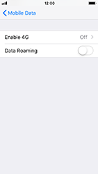 Apple iPhone SE - iOS 12 - Network - Enable 4G/LTE - Step 5