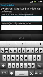 Sony ST25i Xperia U - E-mail - Handmatig instellen - Stap 16