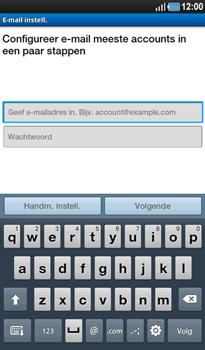 Samsung P1000 Galaxy Tab - E-mail - handmatig instellen - Stap 5