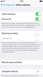 Apple iPhone 6 - Internet - Configurar Internet - Paso 6