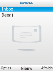 Nokia X2-00 - E-mail - E-mails verzenden - Stap 6