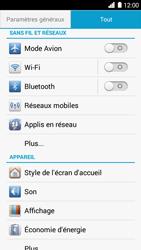 Huawei Ascend G6 - Wifi - configuration manuelle - Étape 3