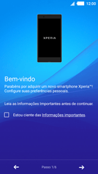 Sony Xperia M4 Aqua - Primeiros passos - Como ativar seu aparelho - Etapa 5