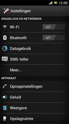 Sony ST26i Xperia J - Wifi - handmatig instellen - Stap 4