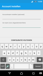 Sony Xperia Z3+ (E6553) - E-mail - Handmatig instellen - Stap 18