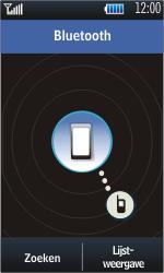 Samsung S5620 Monte - Bluetooth - headset, carkit verbinding - Stap 8