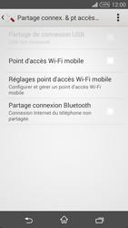 Sony Xpéria T3 - Internet et connexion - Partager votre connexion en Wi-Fi - Étape 6