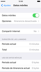 Apple iPhone 5s iOS 10 - Internet - Activar o desactivar la conexión de datos - Paso 4