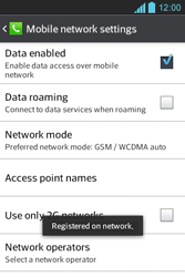 LG P700 Optimus L7 - Network - Usage across the border - Step 9