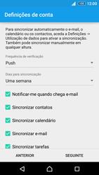 Sony Xperia Z3 Plus - Email - Adicionar conta de email -  8