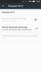 Lenovo Vibe C2 - Wi-Fi - Como usar seu aparelho como um roteador de rede wi-fi - Etapa 6