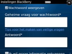 BlackBerry 9790 Bold - BlackBerry activeren - BlackBerry ID activeren - Stap 10