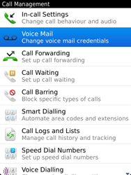 BlackBerry 9810 Torch - Voicemail - Manual configuration - Step 5