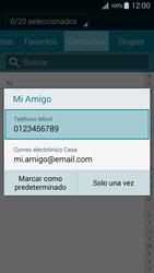 Samsung Galaxy A3 - Mensajería - Escribir y enviar un mensaje multimedia - Paso 8