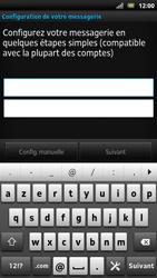 Sony LT22i Xperia P - E-mail - Configuration manuelle - Étape 5