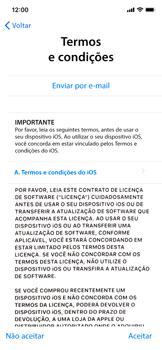 Apple iPhone XR - Primeiros passos - Como ativar seu aparelho - Etapa 18