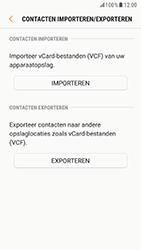 Samsung Galaxy S6 - Android Nougat - Contacten en data - Contacten kopiëren van toestel naar SIM - Stap 12