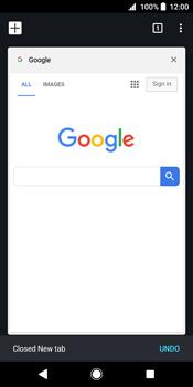 Sony Xperia XZ2 - Internet - Internet browsing - Step 18