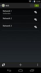 Acer Liquid Jade - WiFi en Bluetooth - Handmatig instellen - Stap 8