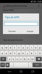 Sony Xperia E4g - Internet - Configurar Internet - Paso 14