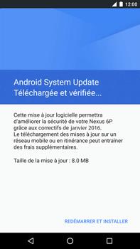 Huawei Google Nexus 6P - Réseau - Installation de mises à jour - Étape 7