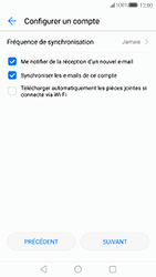 Huawei P10 - E-mail - Configuration manuelle (outlook) - Étape 9