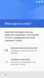 Motorola Moto G5 - Primeiros passos - Como ativar seu aparelho - Etapa 16