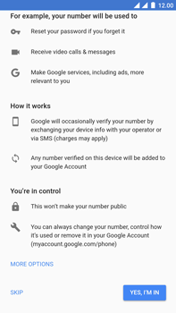 OnePlus 3 - Android Oreo - Applications - Create an account - Step 13