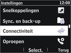 Nokia Asha 302 - Bluetooth - koppelen met ander apparaat - Stap 6