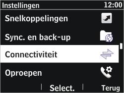 Nokia Asha 302 - Bluetooth - Headset, carkit verbinding - Stap 4