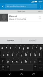 HTC Desire 610 - Contact, Appels, SMS/MMS - Envoyer un SMS - Étape 7