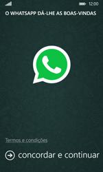 Nokia Lumia 530 - Aplicações - Como configurar o WhatsApp -  5