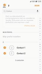 Samsung Xcover 4 - Contactgegevens overzetten - delen via Bluetooth - Stap 7
