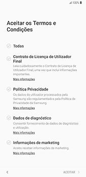 Samsung Galaxy Note 8 - Android Oreo - Primeiros passos - Como ligar o telemóvel pela primeira vez -  7