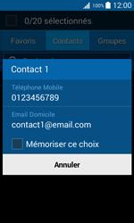 Samsung Galaxy Trend 2 Lite - Contact, Appels, SMS/MMS - Envoyer un SMS - Étape 7
