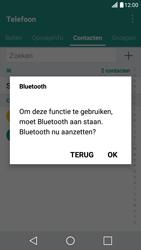 LG X Screen - Contactgegevens overzetten - delen via Bluetooth - Stap 9