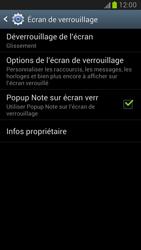 Samsung Galaxy Note 2 - Sécuriser votre mobile - Activer le code de verrouillage - Étape 5