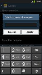 Samsung Galaxy S4 - Mensajería - Configurar el equipo para mensajes de texto - Paso 7