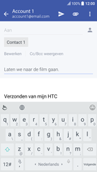 HTC 10 - E-mail - E-mail versturen - Stap 9